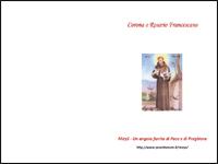 Corona o Rosario Francescano