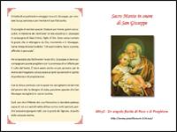 Sacro Manto in onore di San Giuseppe